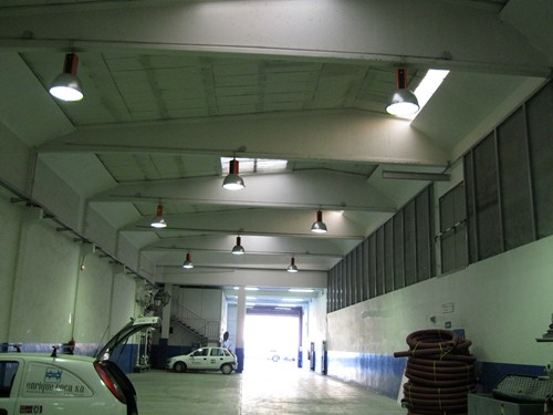 Nave industrial material eléctrico (Zaragoza)